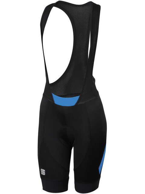Sportful Neo Bibshorts Women Black/Parrot Blue